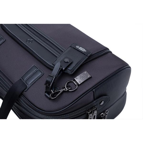 Atlas-travel-bag-charcoal-grey-keyfob-handtags