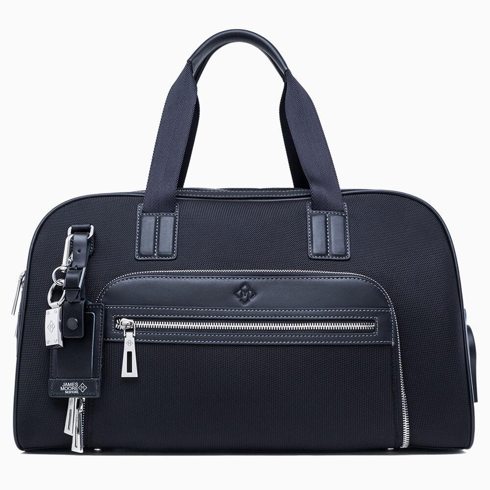 JMNY Atlas 黒いナイロンの旅行バッグ