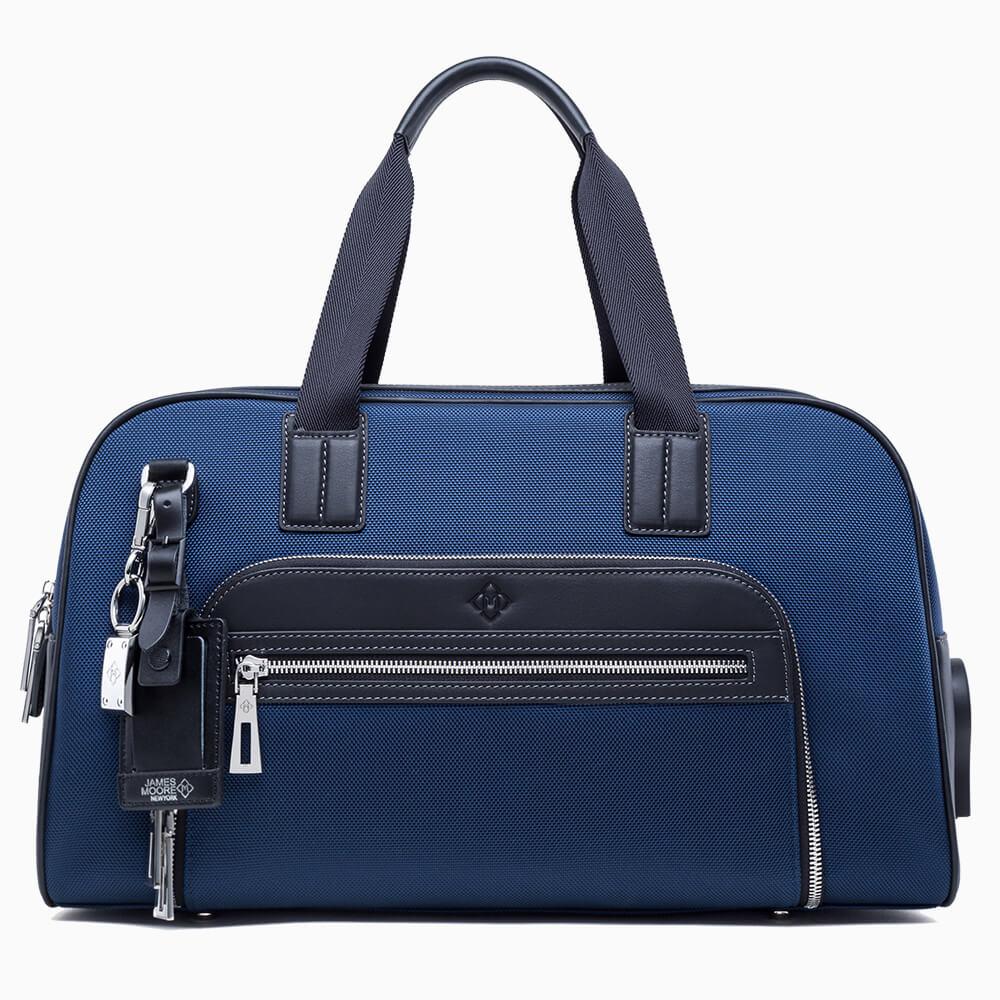 JMNY Atlas travel bag in navy blue