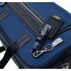 JMNY Atlas travel bag navy blue key fob