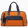 JMNY atlas 明るいオレンジの旅行バッグ