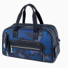 JMNY atlas travel bag in blue camouflage
