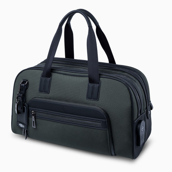 JMNY-atlas-travel-bag-in-forest-green-side-view 1