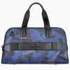 JMNY atlas travel bag in navy blue camouflage