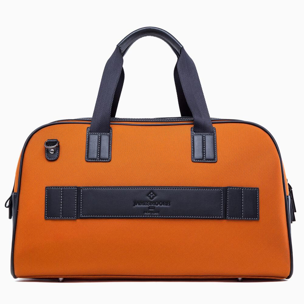 JMNY atlas travel bag orange back