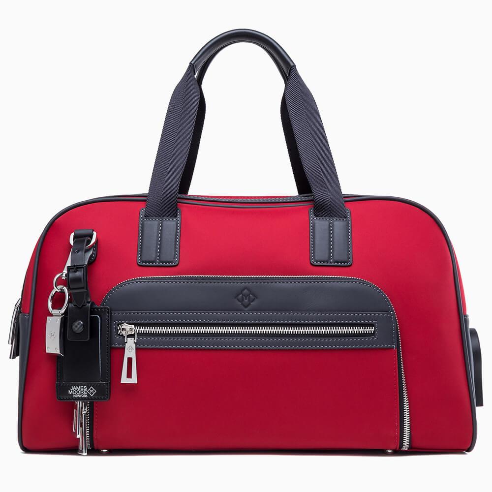 jmny atlas travel bag in red