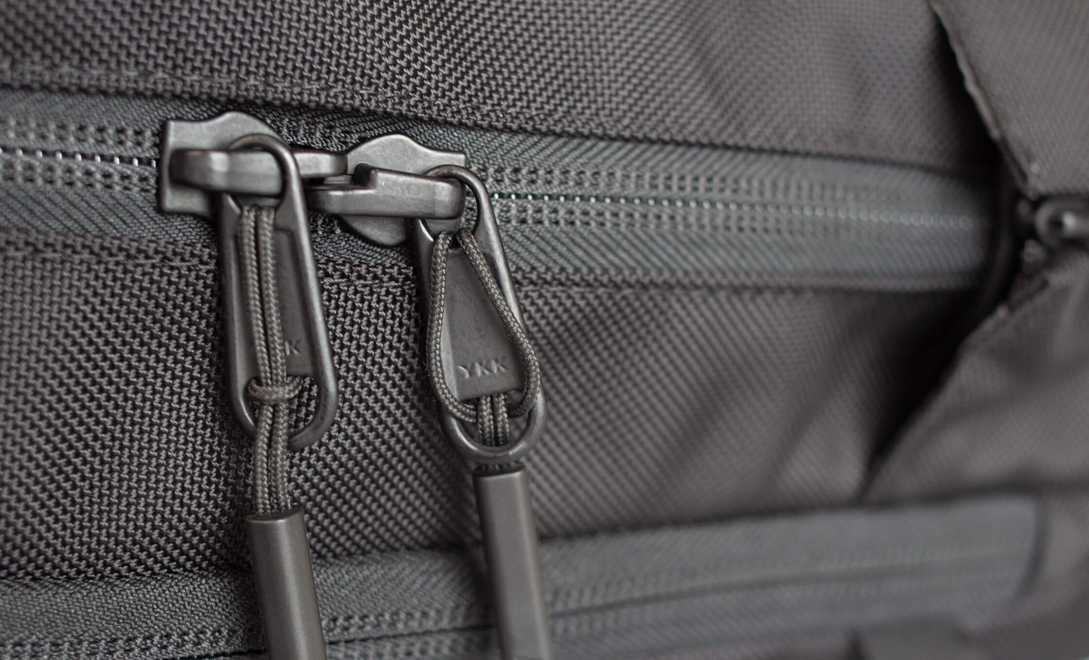 Bag With 2 YKK Zippers