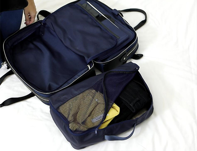 Packing with Garment Bags