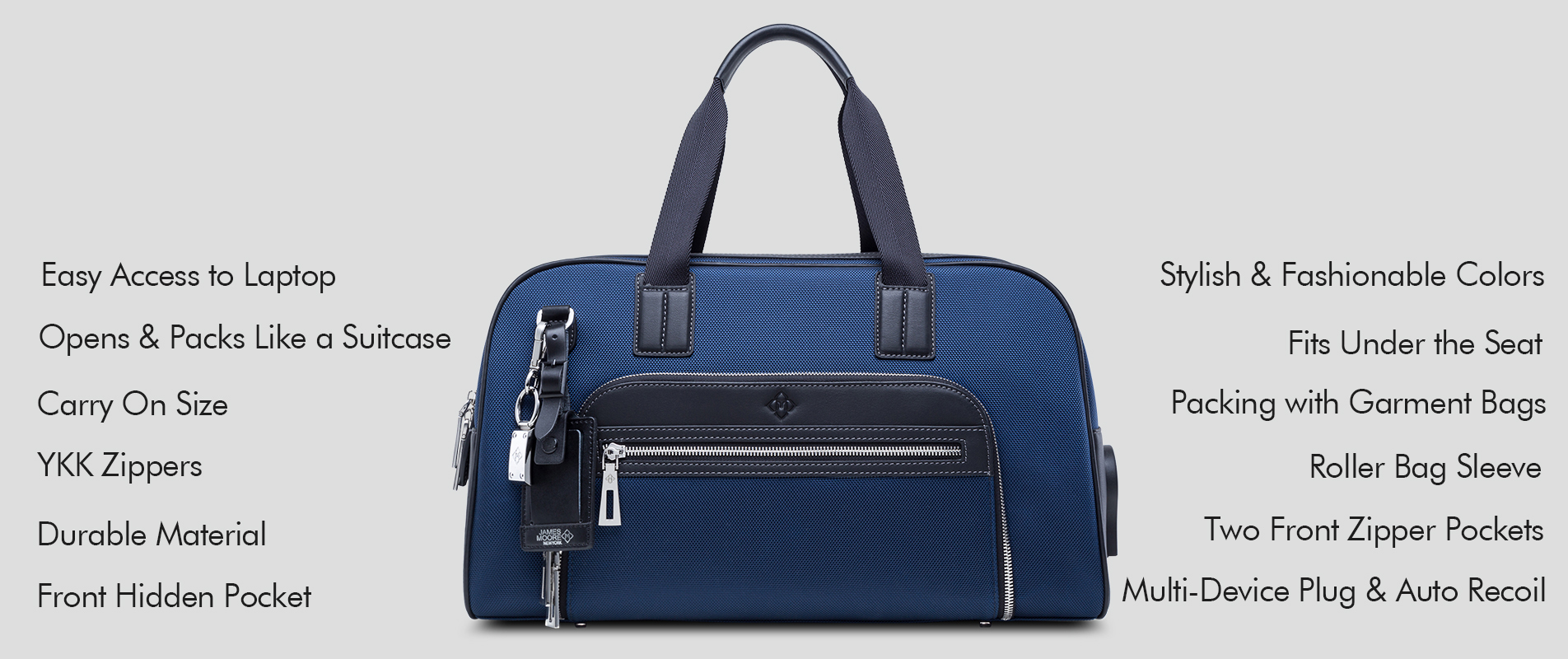 The Most Functional Travel Bag