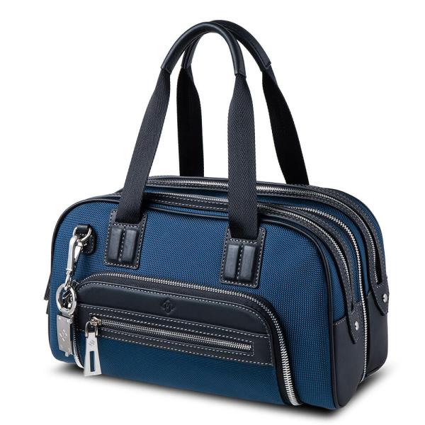 Atlas Mini Travel Bag Blue_side