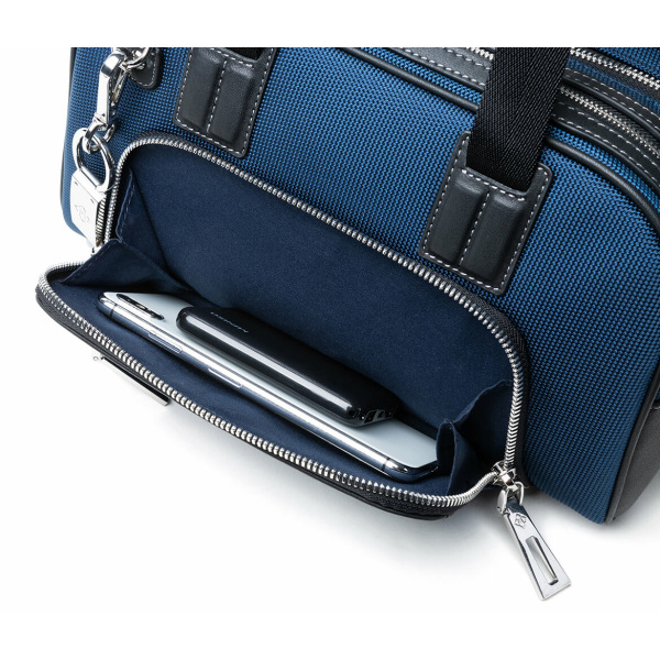 Atlas Mini Travel Bag Front Pockets