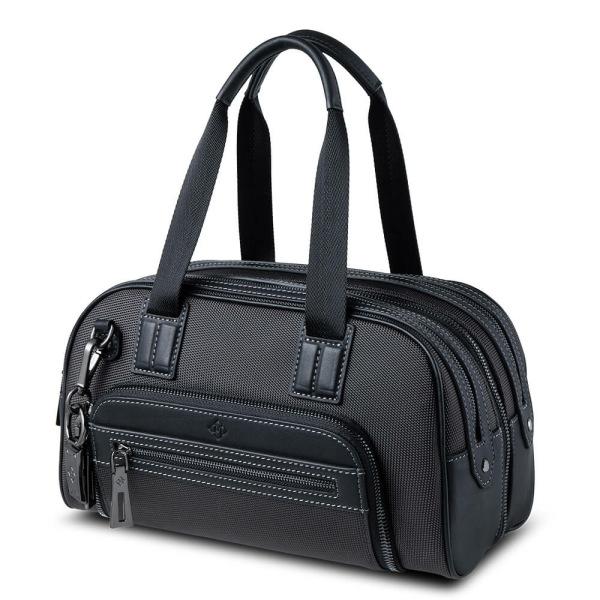 Atlas Mini Travel Bag Grey_side