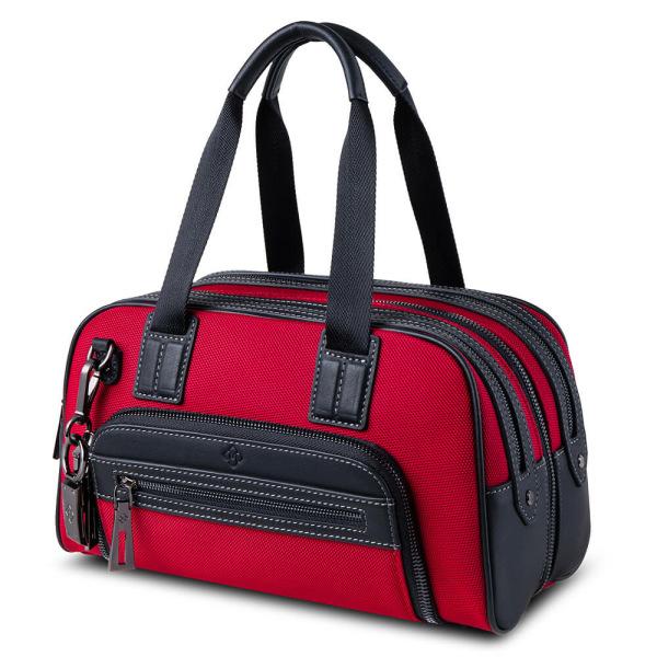 Atlas Mini Travel Bag Red_side