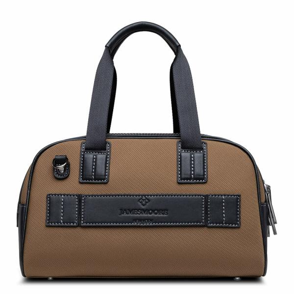 Atlas Mini Travel Bag Tan_back