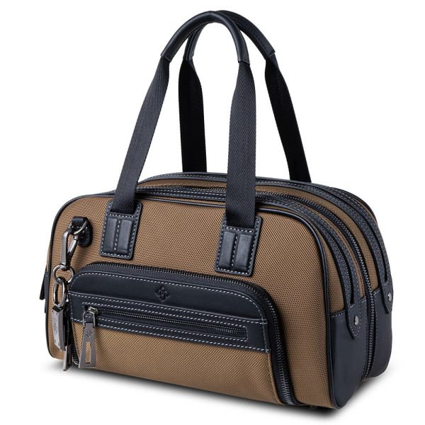 Atlas Mini Travel Bag Tan_side