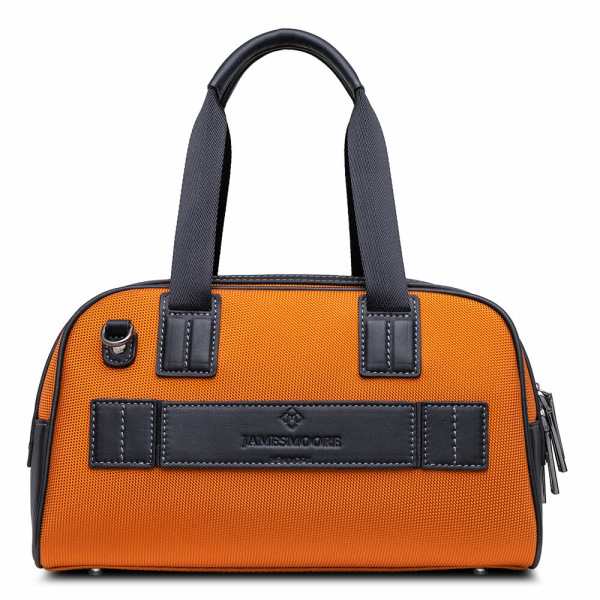 Atlas Mini Travel Bag orange_back