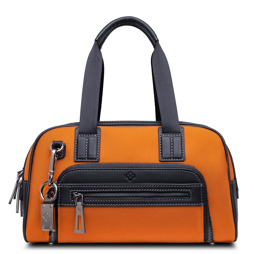 Atlas Mini Travel Bag orange_front