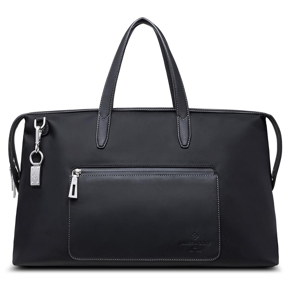 ブラックの京都旅行バッグ