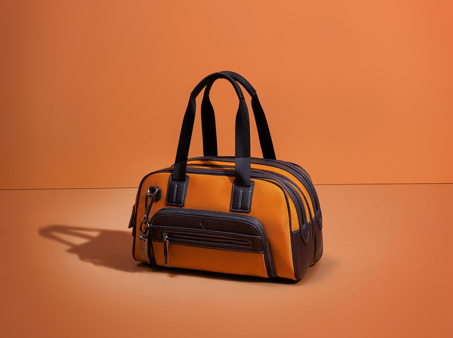 Orange Travel Bag