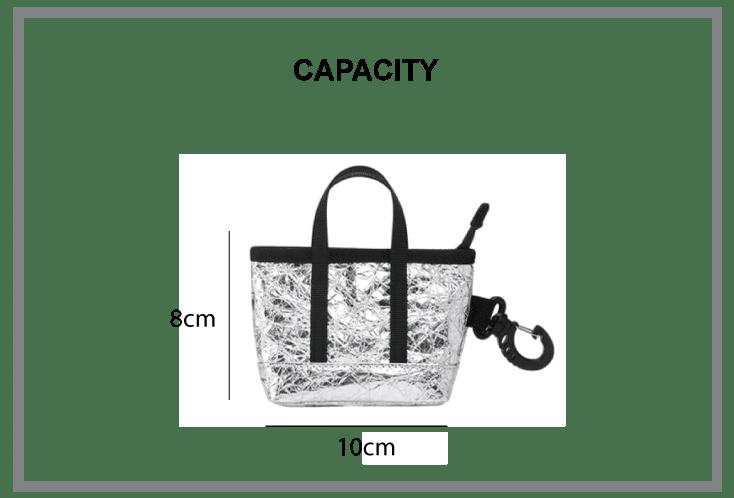 Atlas Travel Bag & Kyoto Mini Cate Tote Bag Sizes