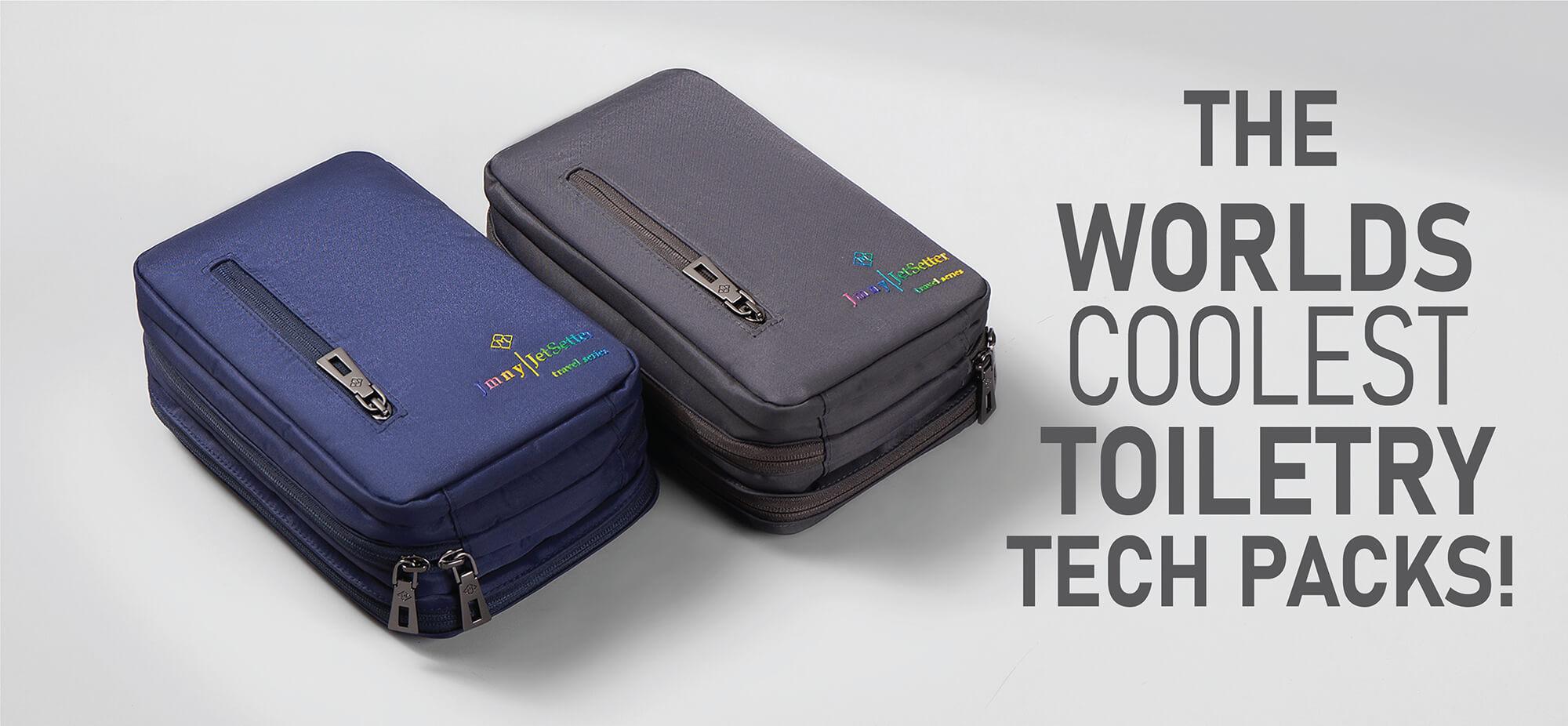 TT Toiletry Bag Kickstarter Crowdfunding Banner